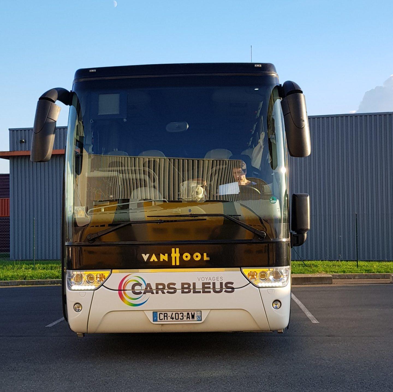 cars bleus